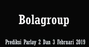 Prediksi Parlay 2 Dan 3 Februari 2019