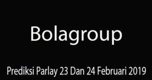 Prediksi Parlay 23 Dan 24 Februari 2019