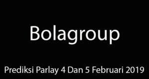 Prediksi Parlay 4 Dan 5 Februari 2019